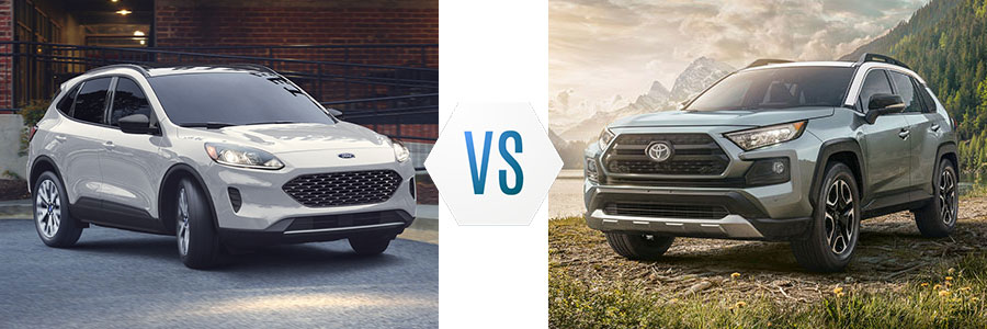 2020 Ford Escape vs Toyota RAV4