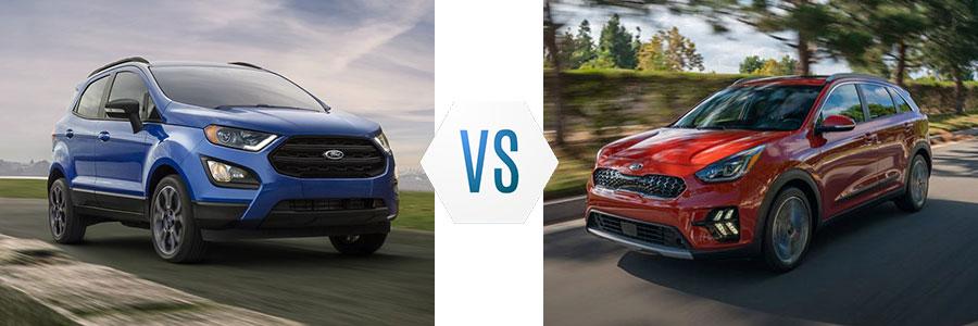 2020 Ford EcoSport vs Kia Niro