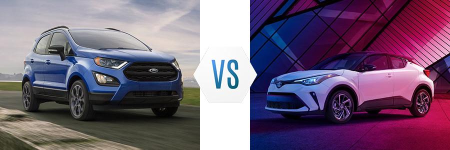 2020 Ford EcoSport vs Toyota C-HR