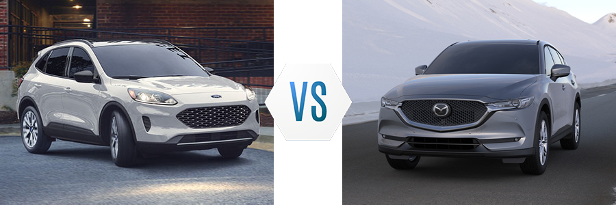 2020 Ford Escape vs Mazda CX-5
