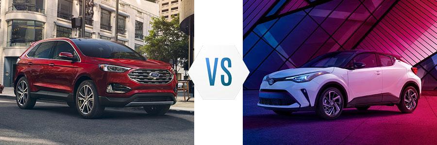 2020 Ford Edge vs Toyota C-HR