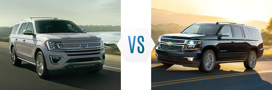2020 Ford Expedition vs Chevrolet Suburban