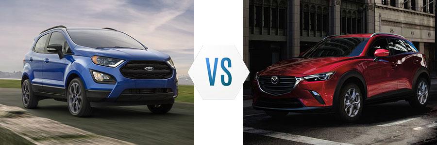 2020 Ford EcoSport vs Mazda CX-3