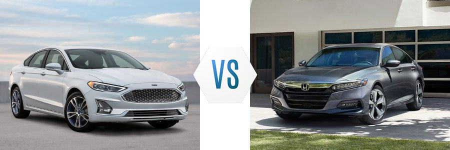 2020 Ford Fusion vs Honda Accord