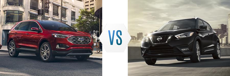 2020 Ford Edge vs Nissan Kicks