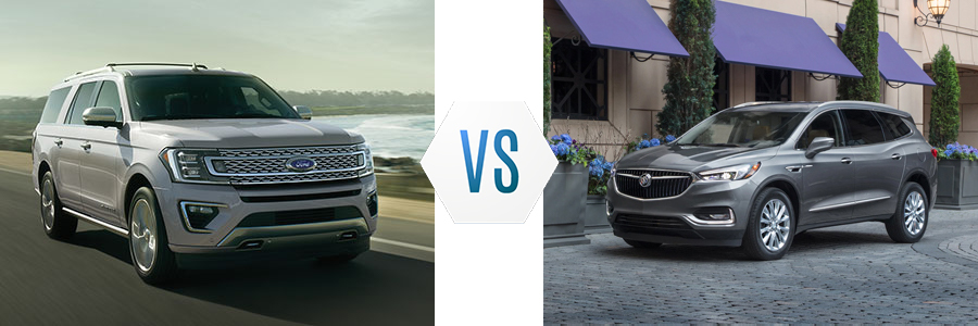 2020 Ford Expedition vs Buick Enclave