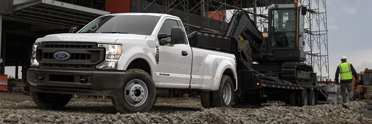 2020 Ford F-350 and F-450