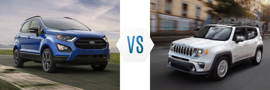 2020 Ford EcoSport vs Jeep Renegade