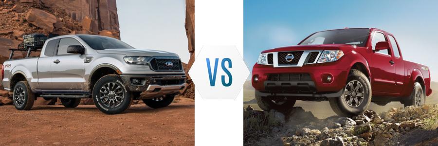 2020 Ford Ranger vs Nissan Frontier