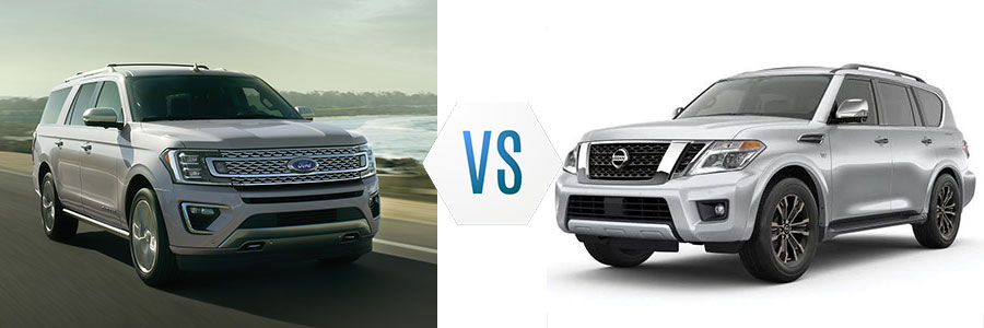 2020 Ford Expedition vs Nissan Armada