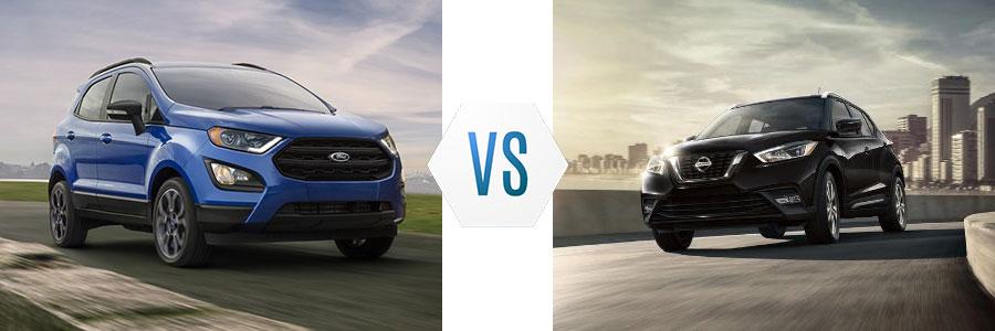 2020 Ford EcoSport vs Nissan Kicks