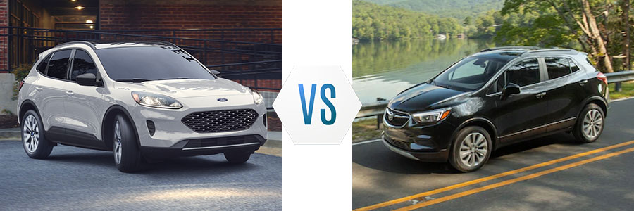 2020 Ford Escape vs Buick Encore