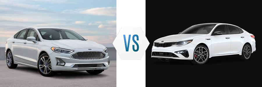 2020 Ford Fusion vs Kia Optima