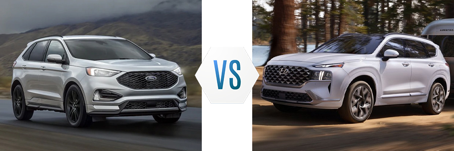 2021 Ford Edge vs Hyundai Santa Fe