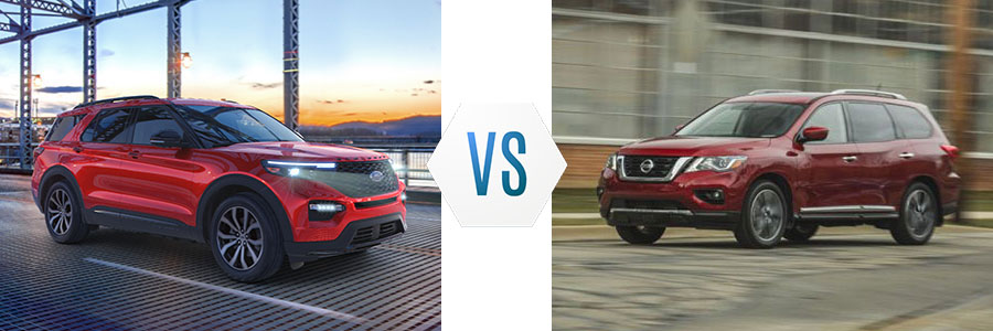 2020 Ford Explorer vs Nissan Pathfinder
